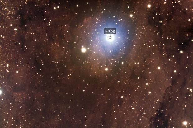 Part of the North America Nebula