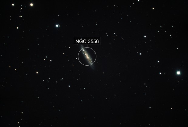 Messier 108 - The Surfboard Galaxy