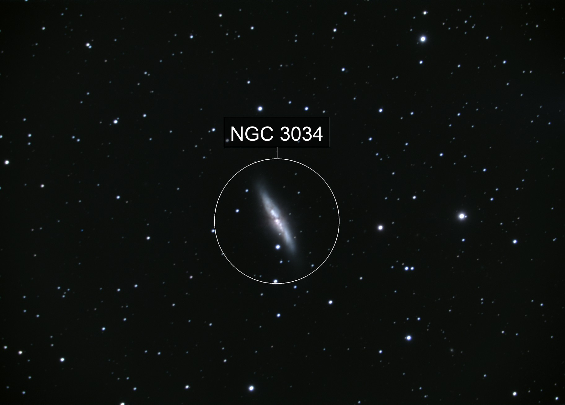 M82 - The Cigar Galaxy