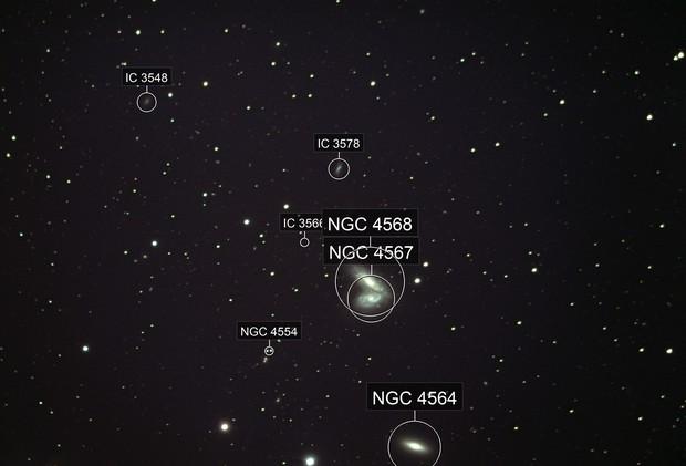 Siamese Twins Galaxies: NGC 4567 & 4568