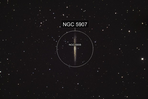 NGC 5907 - The Splinter Galaxy