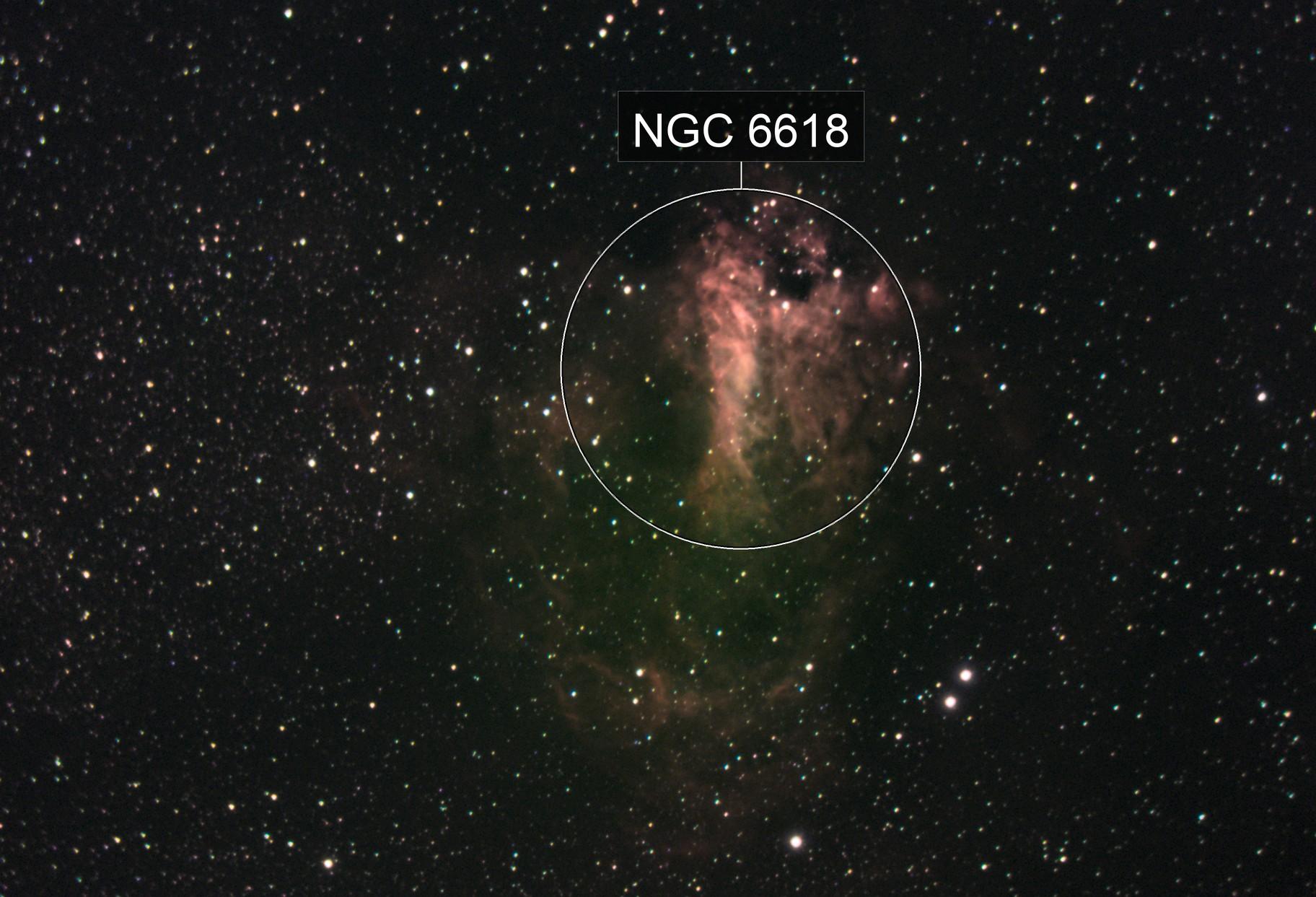 Omega / Swan Nebula Messier 17