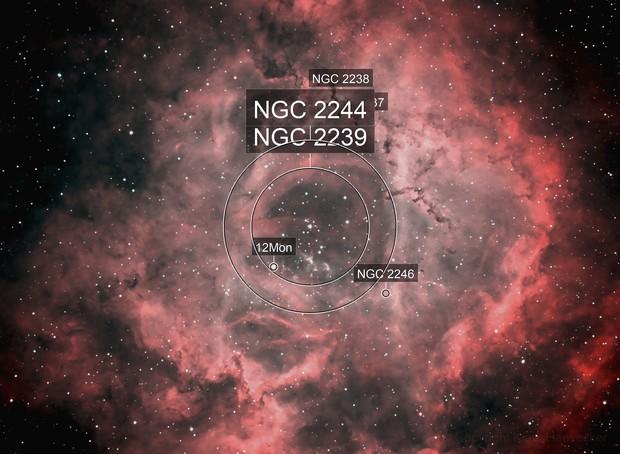 NGC 2244 (Rosette Nebula)