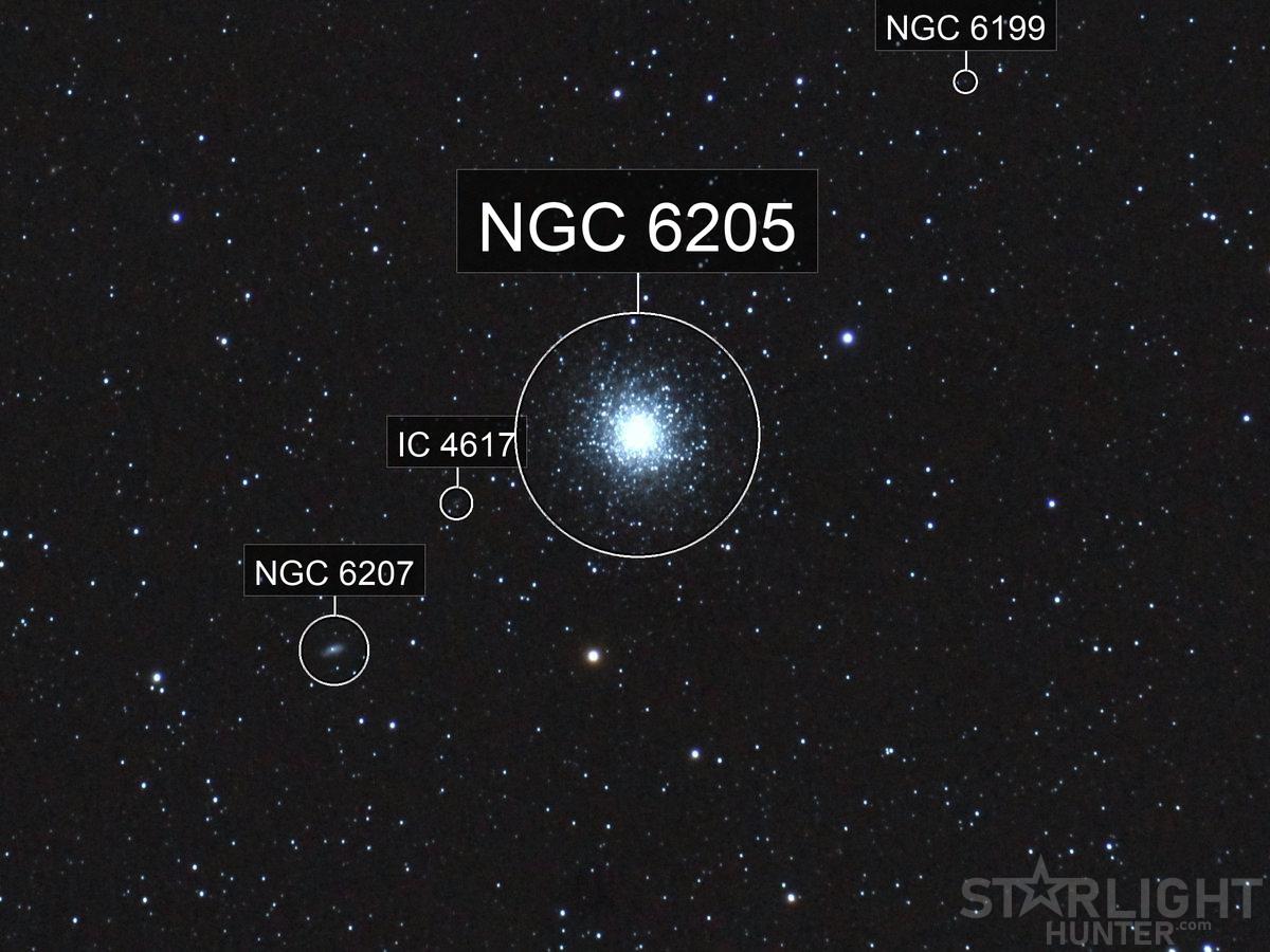 M13 Hércules star cluster