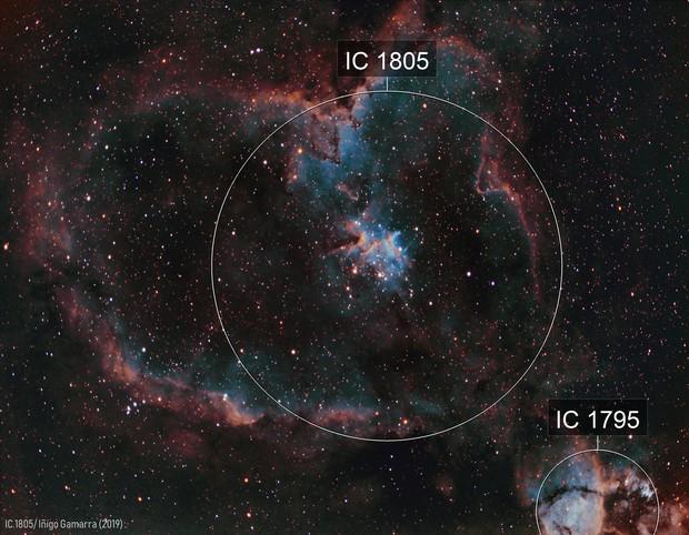 Heart nebula IC 1805