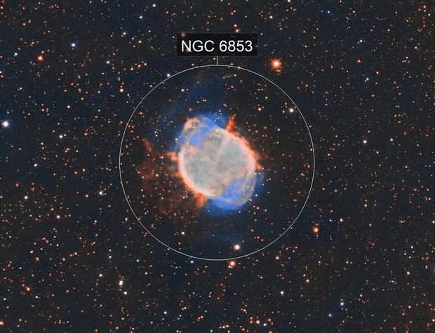 Dumbbell Nebula M-27