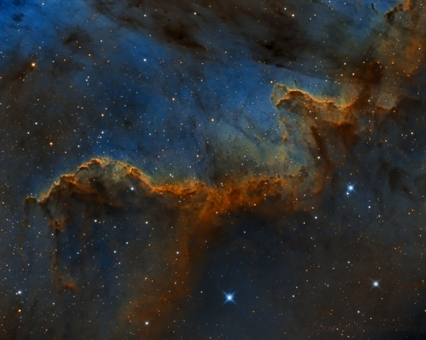 The Great Wall (NGC-7000)