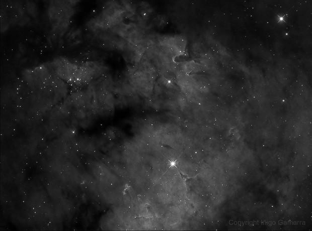 NGC-7822 H-alpha