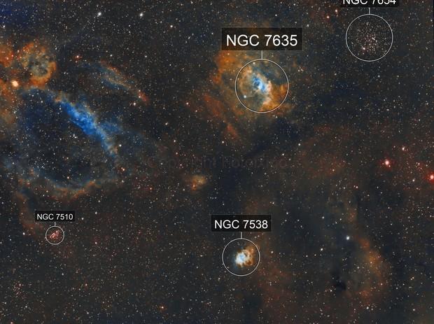 NGC-7635 & Company