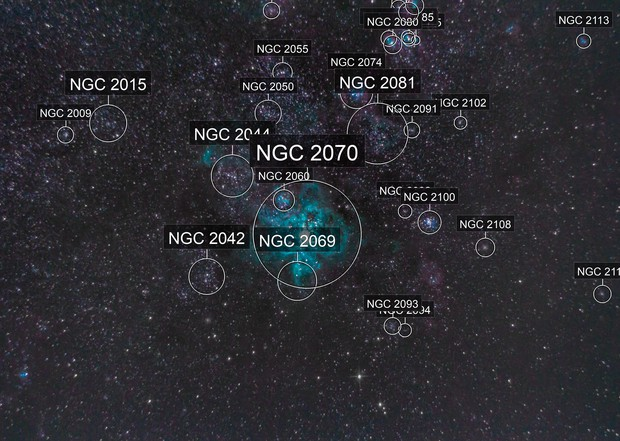 24 Minutes Of Tarantula Nebula