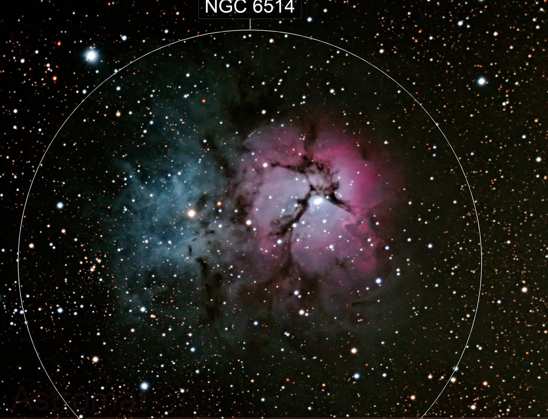 Trifid Nebula M20