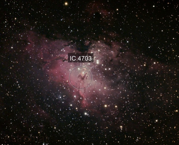 Eagle Nebula & Cluster M16 By-Catch