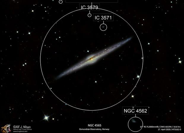 Needle Galaxy NGC4565