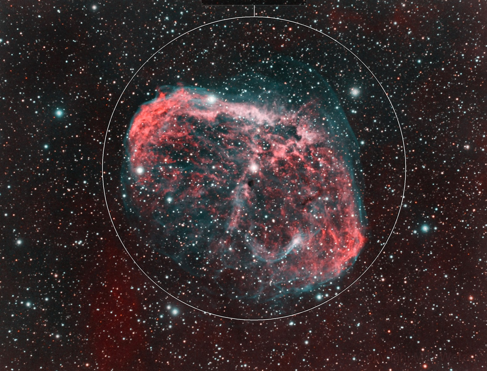 NGC 6888, The Crescent Nebula