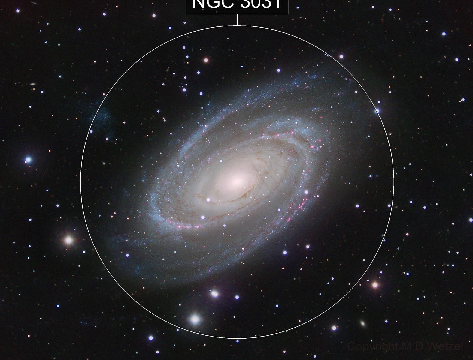 M81 Bode's Nebula