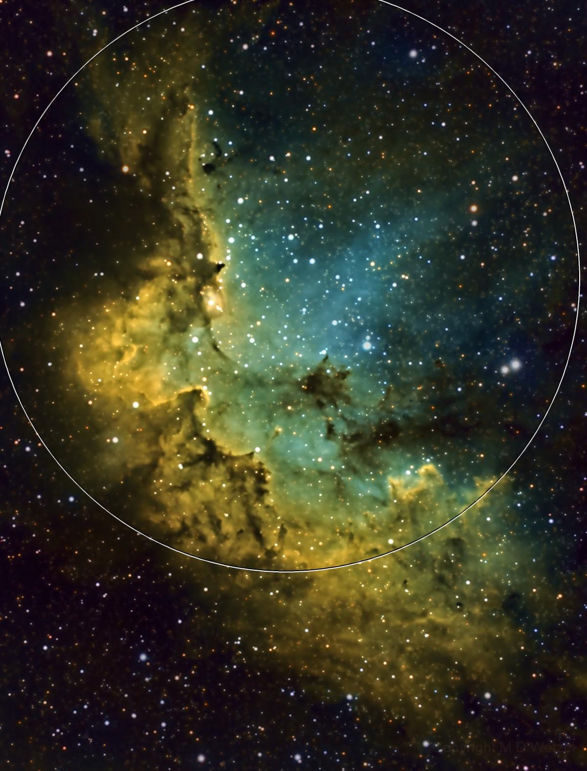 NGC 7380, The Wizard Nebula