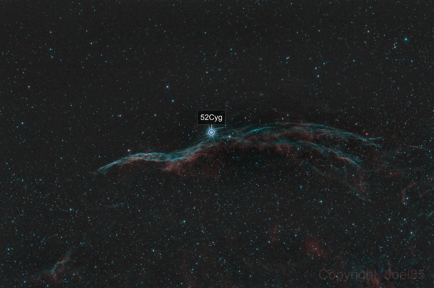NGC6960 single light test