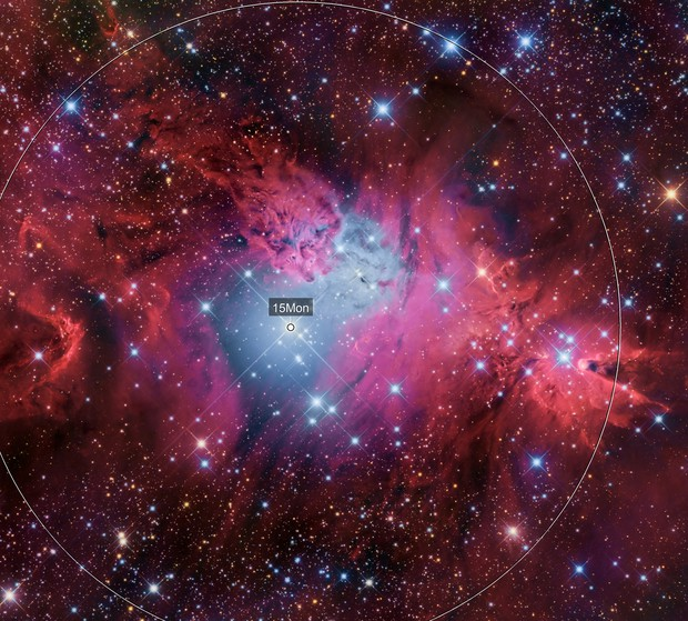 FoxFur NGC 2264 and Cone NGC 2264 Nabulae region