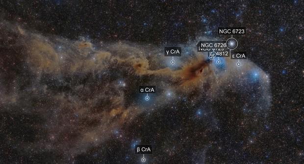 Corona Australis Wide field