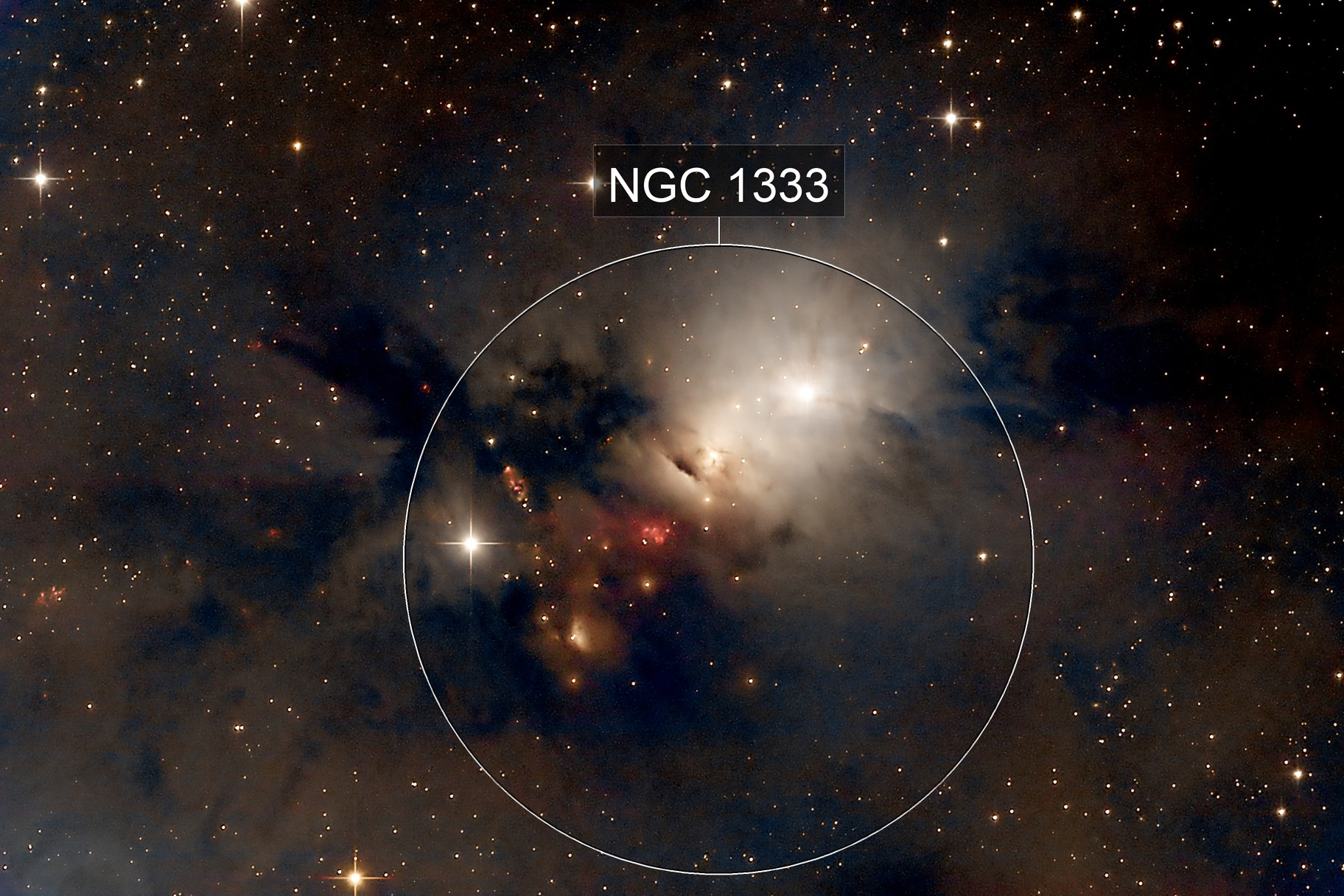 NGC 1333 - Embryo Nebula (LRGB)