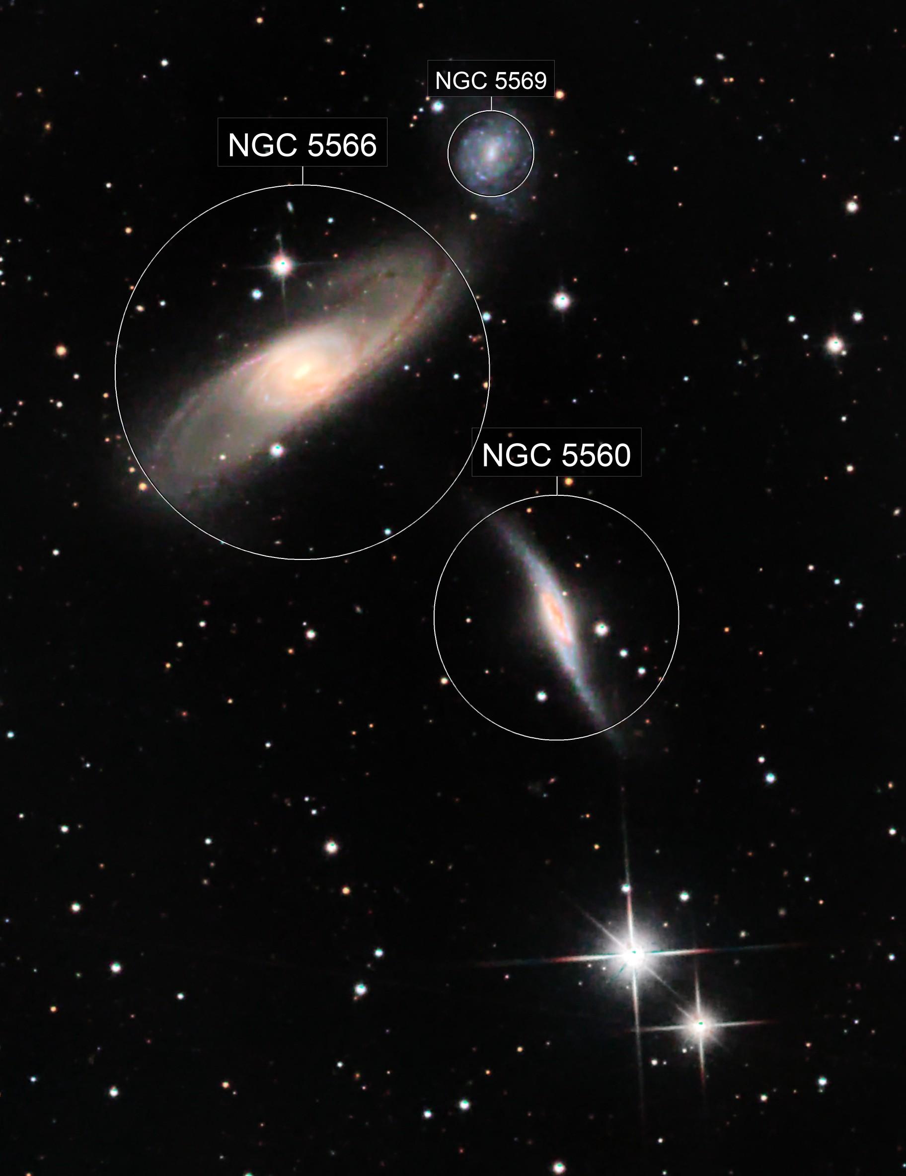 NGC 5560 - LRGB