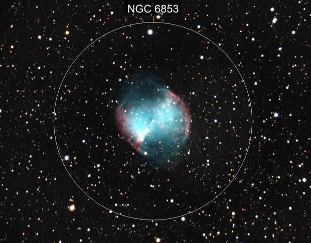 M27 - Dumbell Nebulae