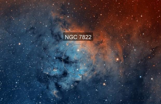 NGC7288 - SHO