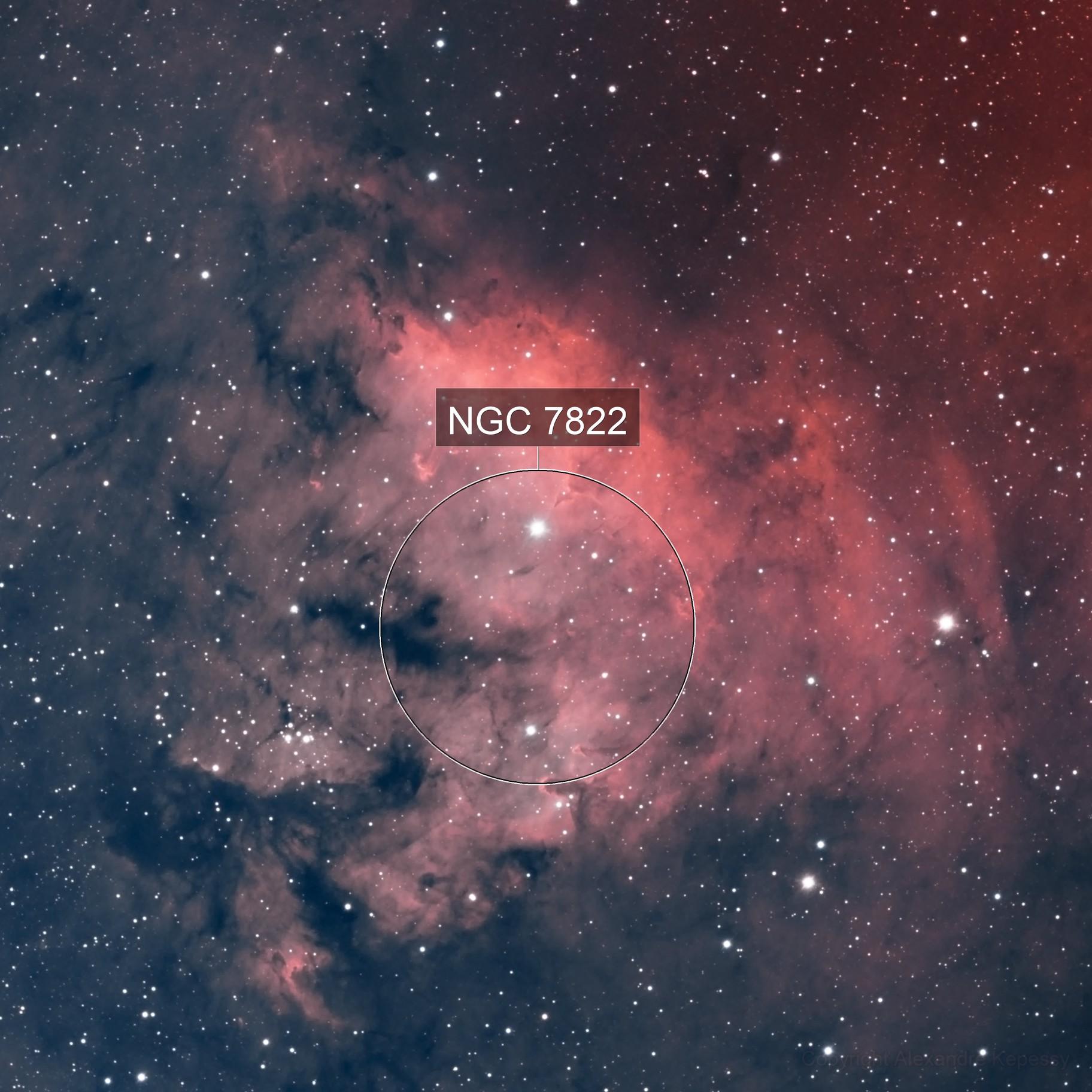 NGC7822 HOO