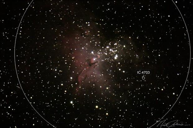 M-15 Eagle Nebula