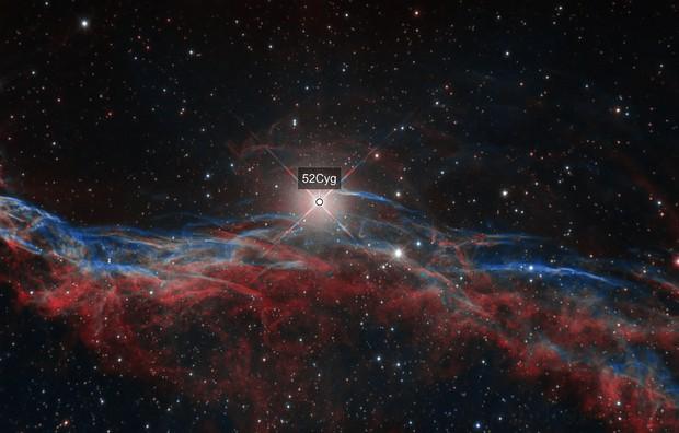 West Veil Nebula (NGC6960)