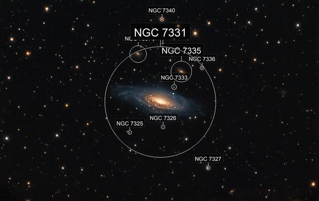 Deer Lick Group (NGC7331)