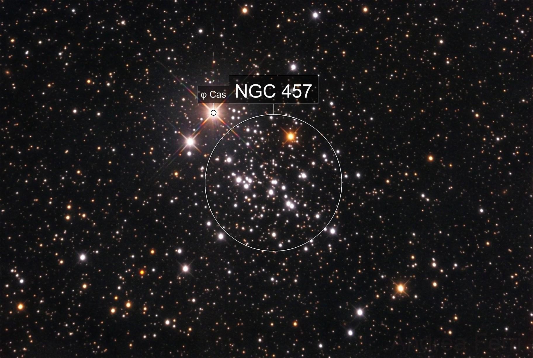 Owl Cluster (NGC457)