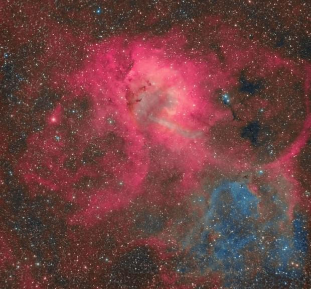 Lion Nebula Sh-2-132