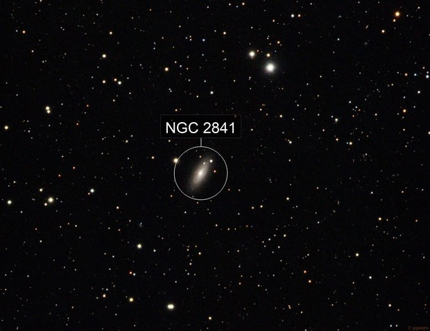 NGC 2841 - Sb Spiral Galaxy