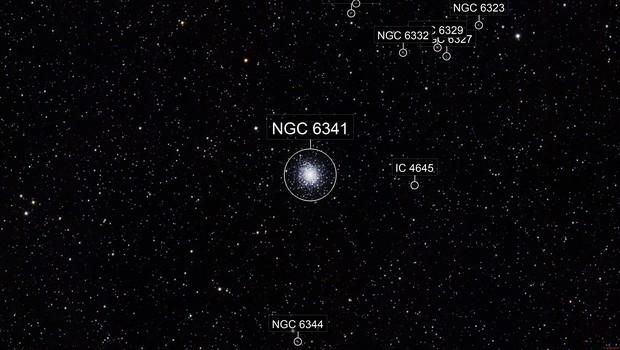 M 92 - Globular Cluster in Hercules