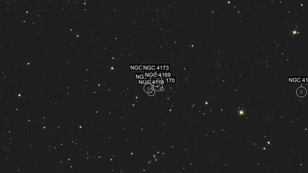 The Box (galaxies NGC 4169 - 4173 - 4174 - 4175)