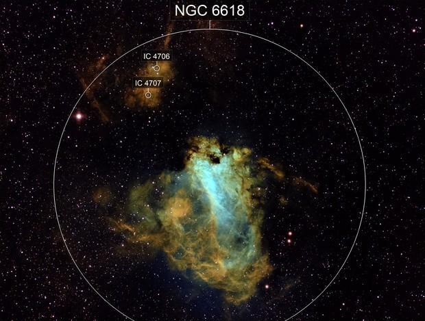Omega Nebula M17