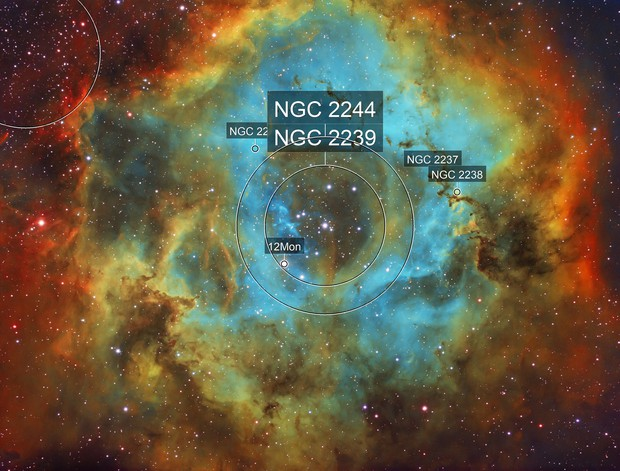 Rosette Nebula - NGC 2237
