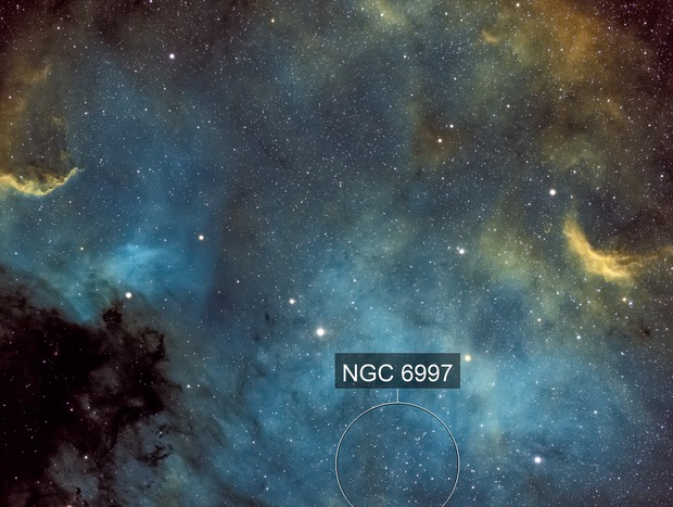 North America Nebula NGC7000