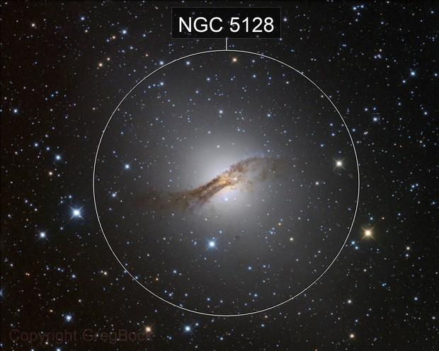 The Hamburger Galaxy NGC5128