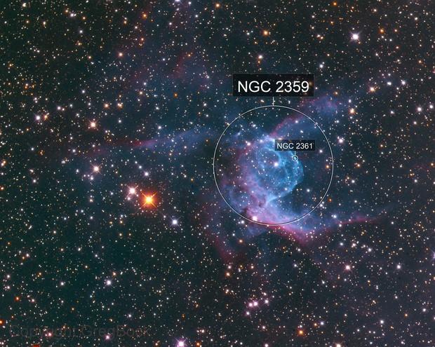 Thor's Helmet NGC2359