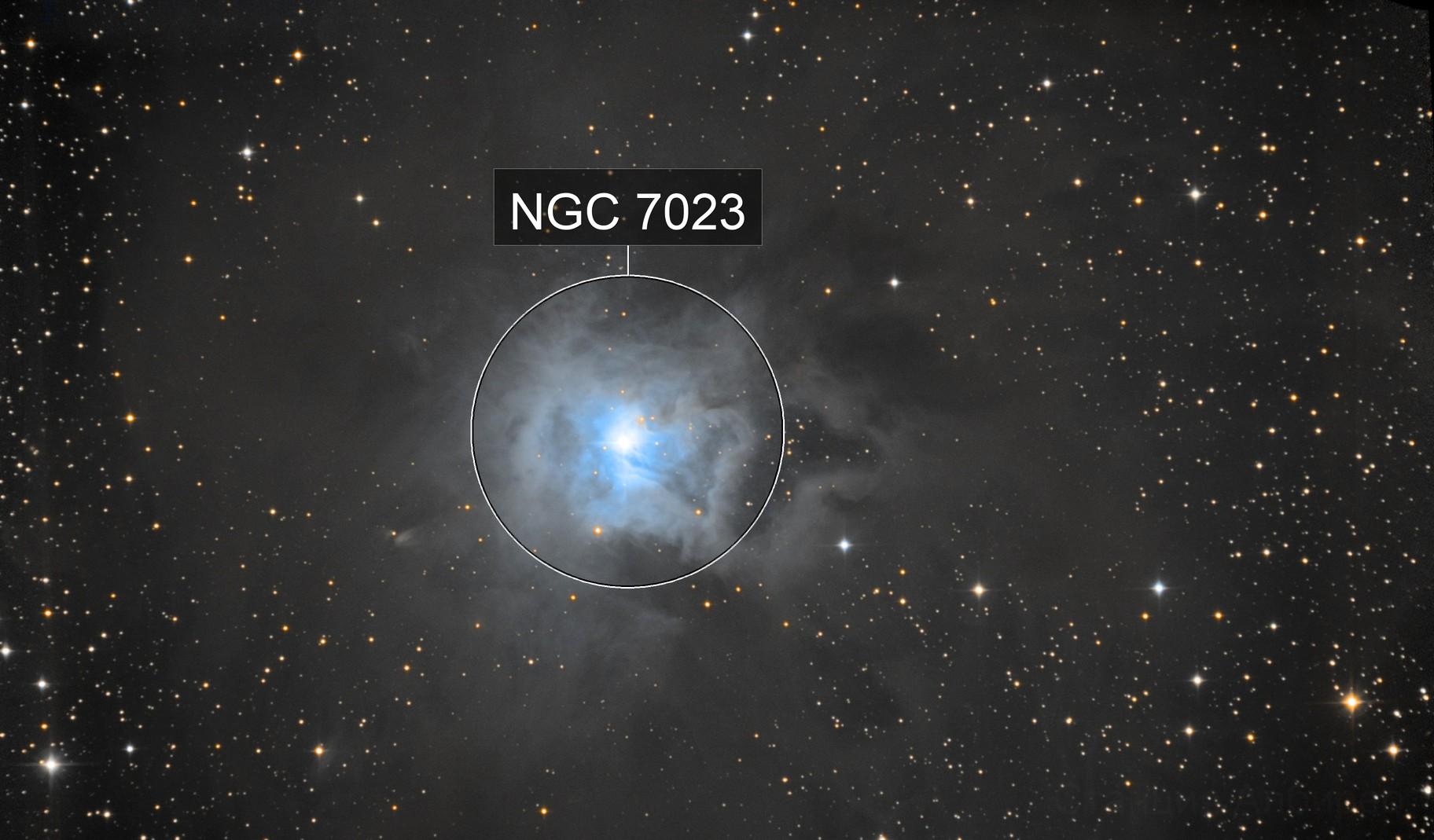 NGC7023 L RGB