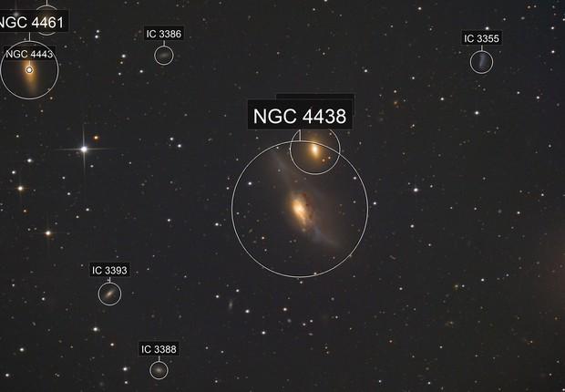 NGC4438 NGC 4435