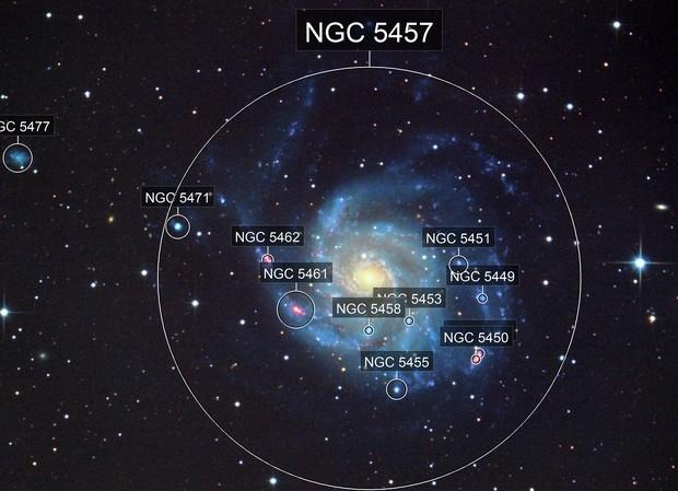M101 L RGB Ha
