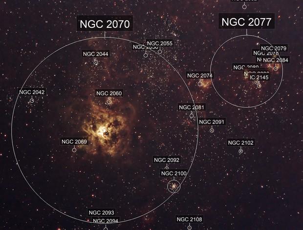 Tarantula Nebula NGC2070