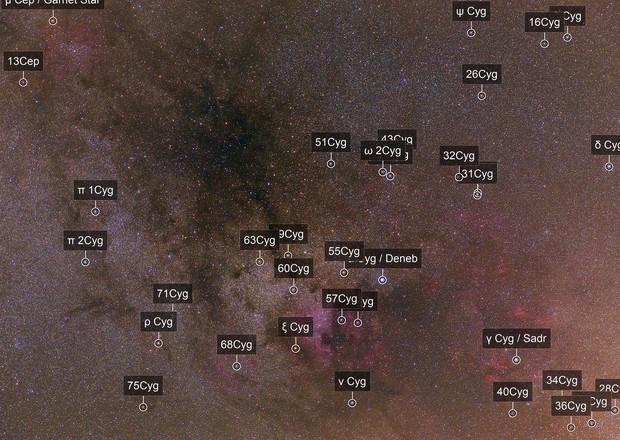 NGC7000, Sadr region, Le Gentil 3