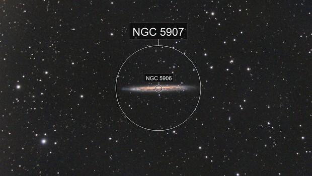 NGC5907 - Splinter Galaxy