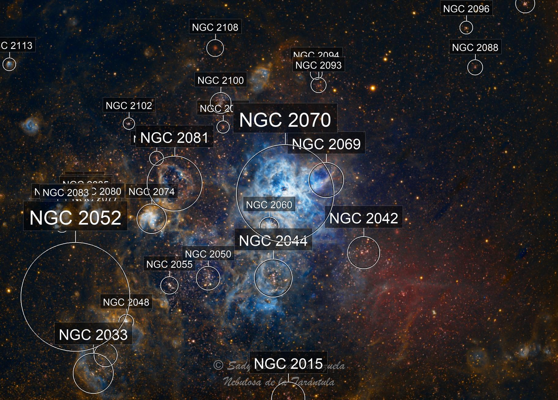 Nebulosa de la Tarántula SHO