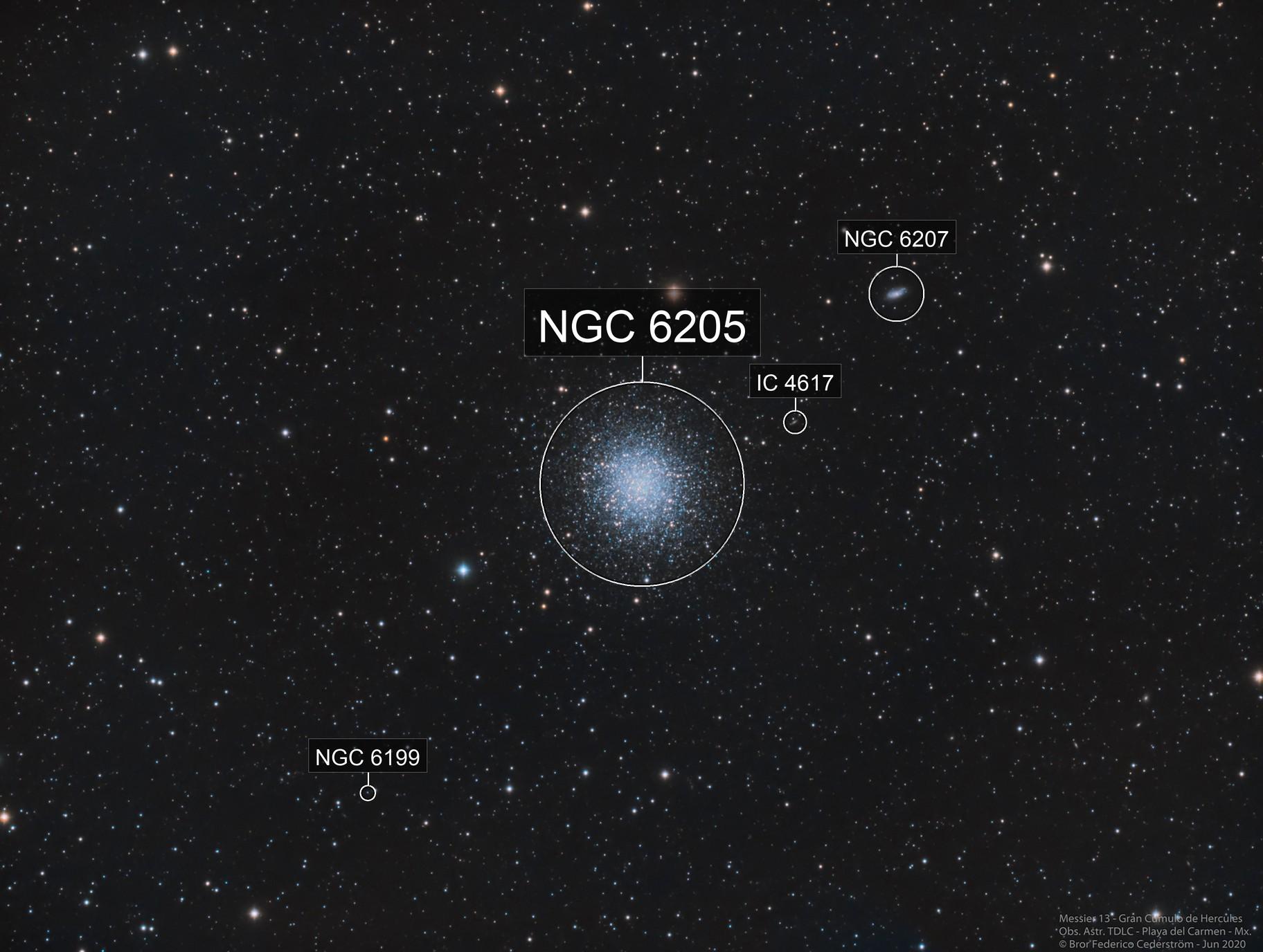 Messier 13 Gran Cúmulo de Hércules
