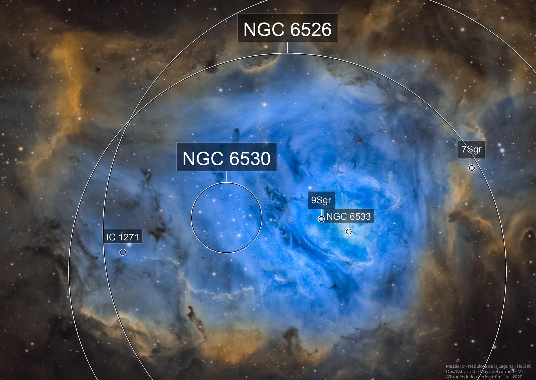 Messier 8 - Nebulosa de la Laguna